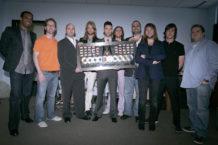 Maroon 5 - 10 Million Records Sold Plaque Presentation