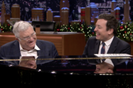 "Watch Randy Newman Play ""Short People,"" Talk About Writing <i>Three Amigos</i> on <i>Fallon</i>"