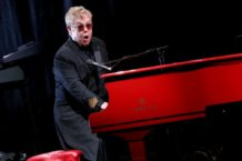 Elton John Performs And Answers Questions From Fans During SiriusXM's