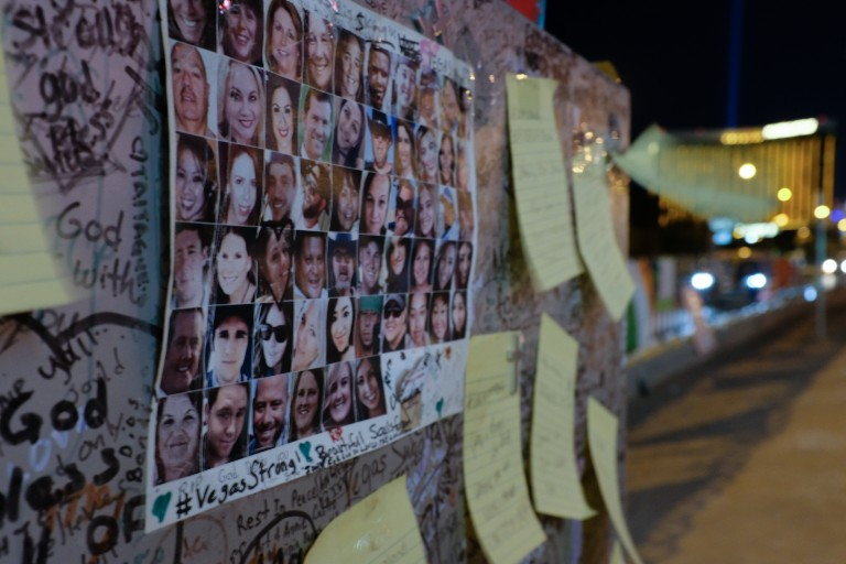 Las Vegas mass shooting memorial