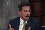 "James Franco Calls Sexual Misconduct Allegations ""Not Accurate"" in <i>Colbert</i> Interview"