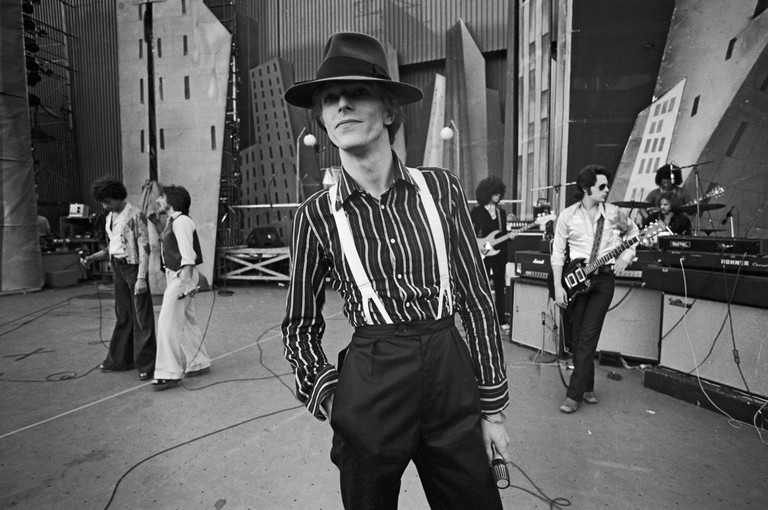 Bowie At Philly Dogs Rehearsal