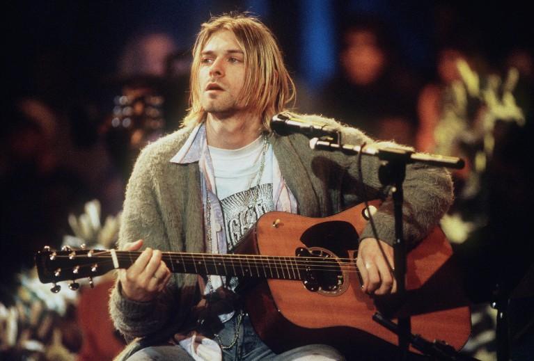 Kurt Cobain Guitar Courtney Love Frances Bean Cobain