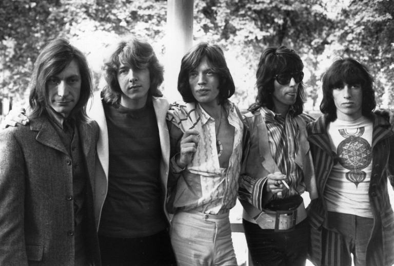 Rolling Stones Crossfire Hurricane Trump