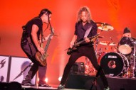 """Watch Metallica's Kirk Hammett and Robert Trujillo Cover """"Dancing Queen"""" in Sweden"""