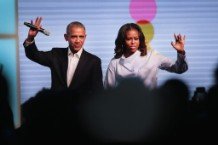 Former President Obama And First Lady Michelle Host Inaugural Obama Foundation Summit In Chicago