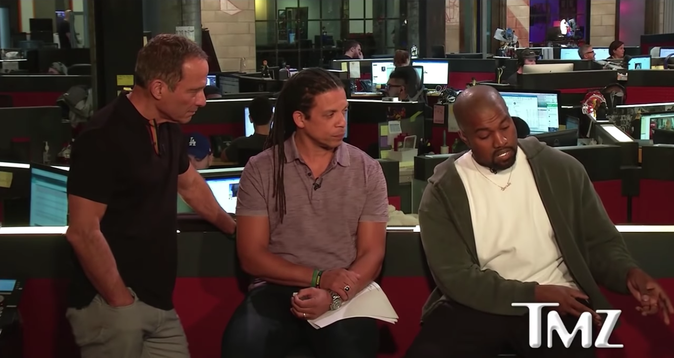 Everything That Happened During Kanye S Appearance On Tmz Live Spin