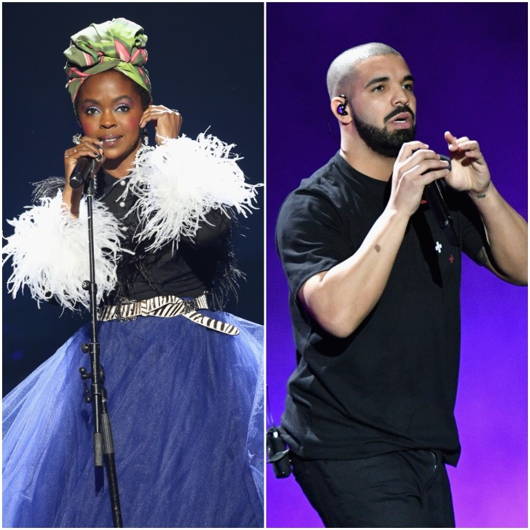 "video: Lauryn Hill remixes Drake's ""Nice For What"""