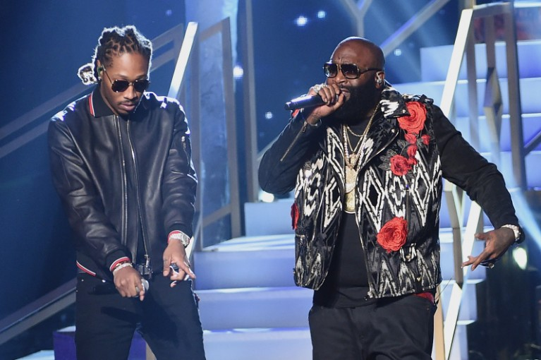 "rick ross - ""green gucci suit"" featuring Future"