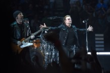 U2 does a tribute to Anthony Bourdain