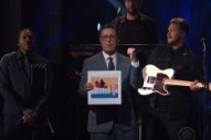"""Watch Alt-J Perform """"In Cold Blood"""" With Twin Shadow and Pusha T on <i>Colbert</i>"""