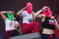 Pussy Riot Release New Song Protesting Arrest of 18-Year-Old Girl