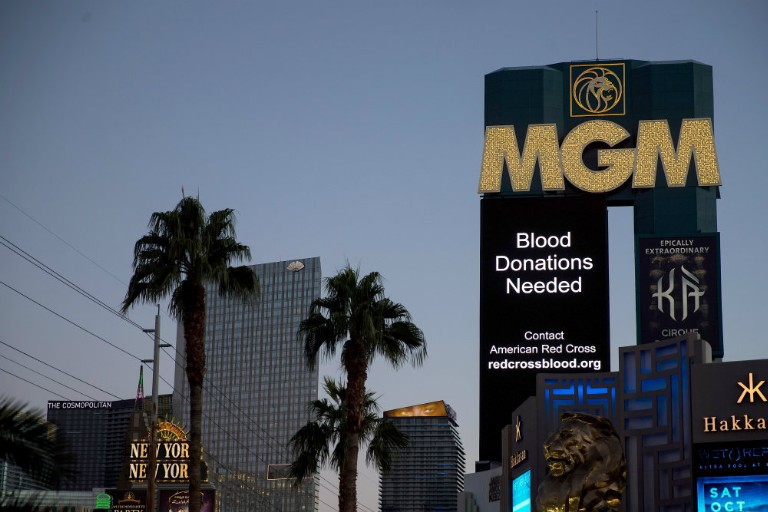 MGM Sues Victims of Las Vegas Shooting