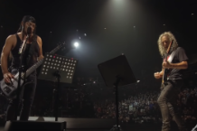 Metallica Rob Trujillo Kirk Hammett Prince When Doves Cry