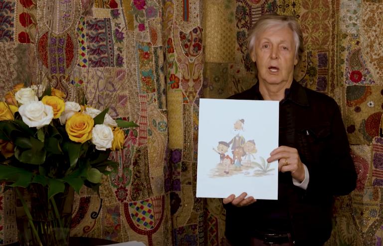 Paul McCartney Hey Grandude Children's Book