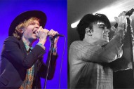"""Watch Beck Cover """"Cars"""" with Gary Numan at Riot Fest"""