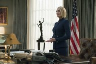 Claire Underwood Reveals Frank's Fate in <i>House of Cards</i> Teaser