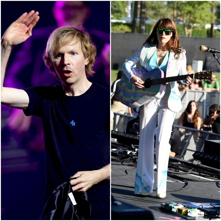 """beck & jenny lewiscovers neil young's """"harvest moon"""""""