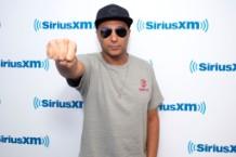 Tom Morello Visits SiriusXM on October 2, 2018.