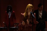 Watch Florence + the Machine Perform on <i>James Corden</i>