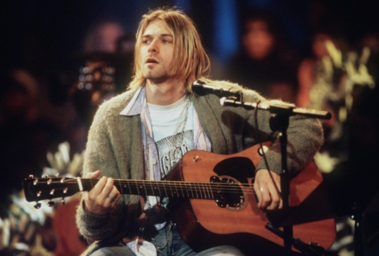 Kurt Cobain Nirvana Rap Music