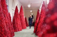 The White House Is Celebrating Christmas in the Black Lodge This Year