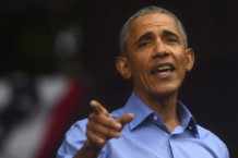 Barack Obama Attends Campaign Rally For Pennsylvania Democrats In Philadelphia