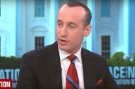 Stephen Miller's Hair Is Back to Normal Today