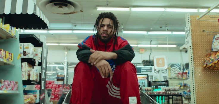 """j. cole """"middle child"""" video"""