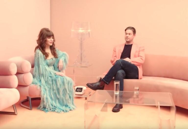 "jenny lewis video ""red bull & hennessy"" tim heidecker mac demarco david arquette"