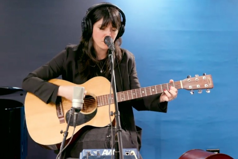 "Sharon Van Etten Covers the Sinead O'Connor Song ""Black Boys on Mopeds"""