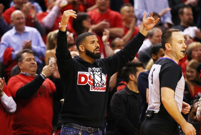drake toronto raptors playoffs