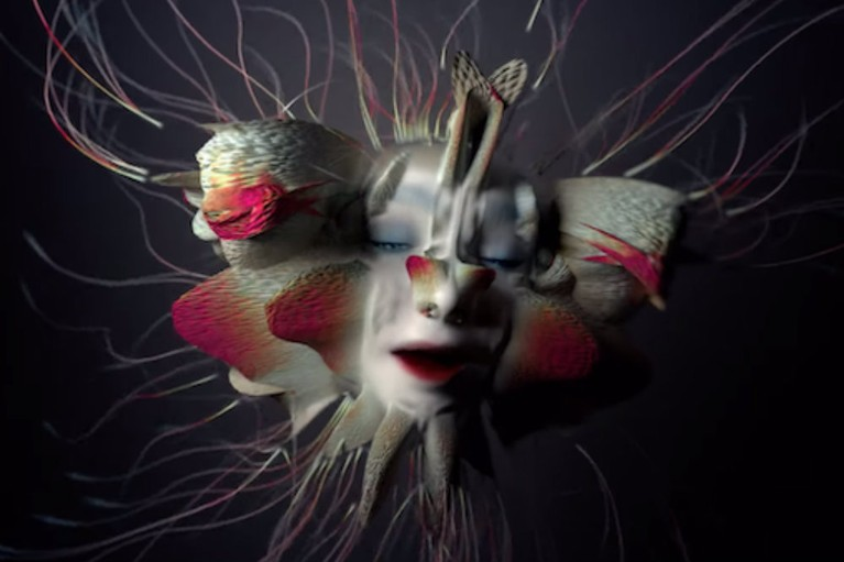 "Bjork Releases ""Tabula Rasa"" Video"