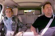 Céline Dion Recreates <i>Titanic</i> and Gives Away Shoes on <i>Carpool Karaoke</i>