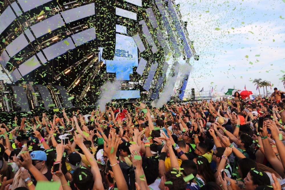 Ultra Music Festival's EDM Music Stressing the Hell Out of Fish