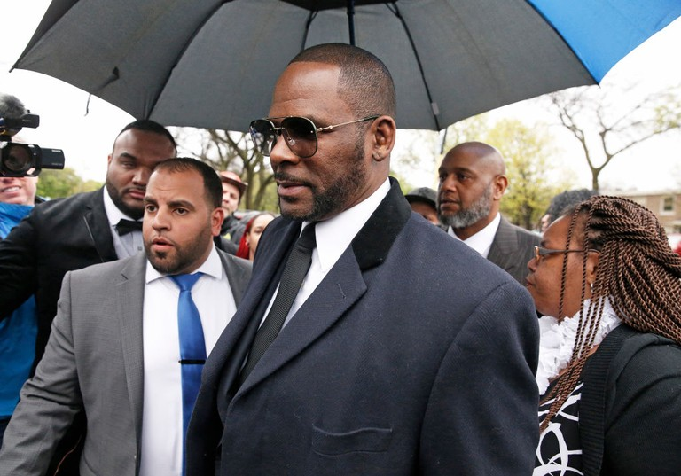 R. Kelly Arrest 11 Charges of Sexual Abuse Assault