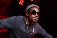 André 3000 Spotted Playing Flute in LAX Terminal