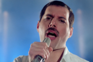 "Hear Newly Unearthed Freddie Mercury Recording ""Time Waits For No One"""
