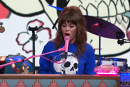 "Watch Jenny Lewis Perform ""Wasted Youth"" on <i>Colbert</i>"