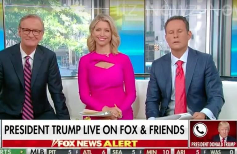 Trump Calls 'Fox & Friends' on His 73rd Birthday