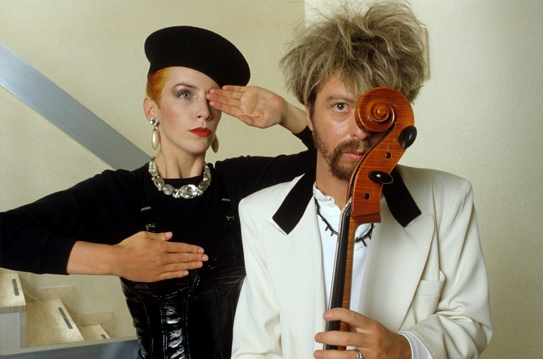 Annie Lennox, David A. Stewart (Eurythmics)