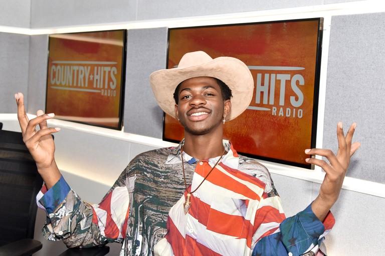 Lil Nas X Visits KISS FM UK