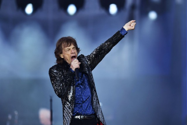 Mick Jagger The Rolling Stones Donald Trump