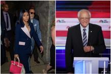 Cardi B Praises Bernie Sanders on Twitter