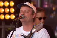 "Mac DeMarco Performs ""Finally Alone,"" ""Nobody,"" and More on <i>Kimmel</i>"