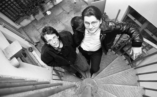 William Gibson And Bruce Sterling