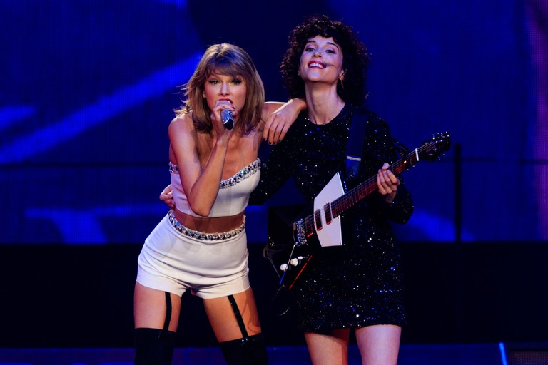Taylor Swift Annie Clark