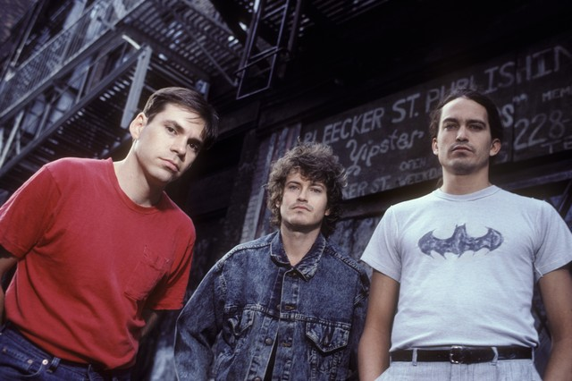 Derrick Bostrom, Cris Kirkwoord, and Curt Kirkwood of the Meat Puppets