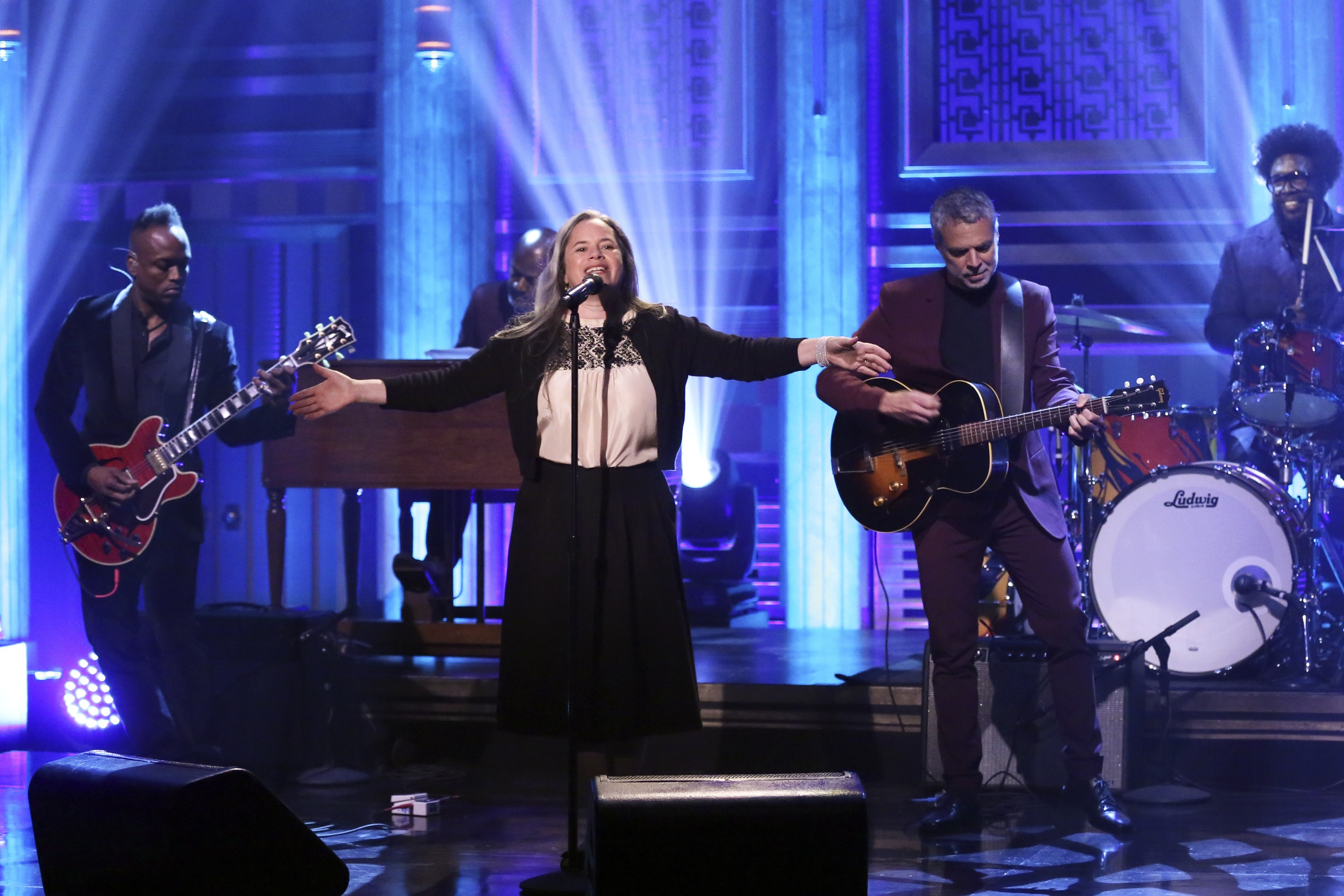 Natalie Merchant with The Roots on The Tonight Show