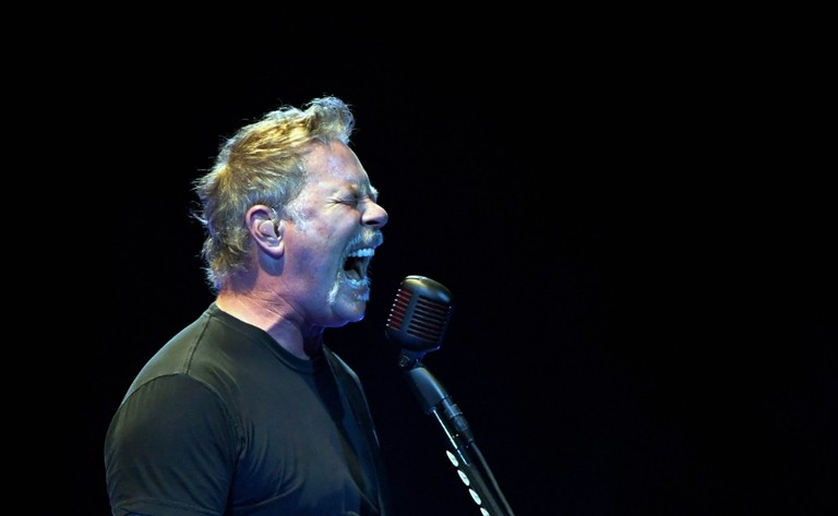 James Hetfield Called Woman Who Shooed Cougar Away With Metallica